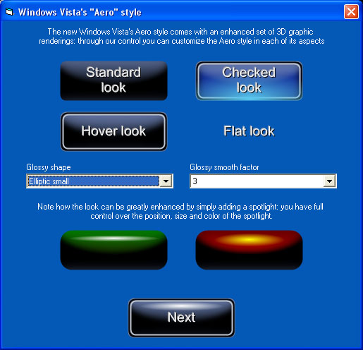3D Active Button Magic screenshot