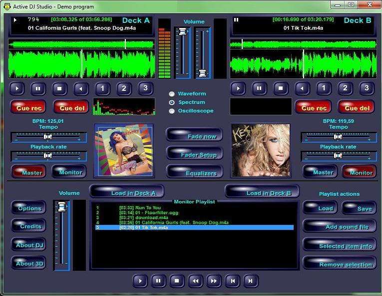 Click to view Active DJ Studio 7.4 screenshot