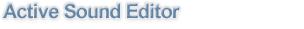 Active Sound Editor