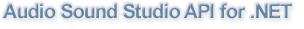Audio Sound Studio API for .NET