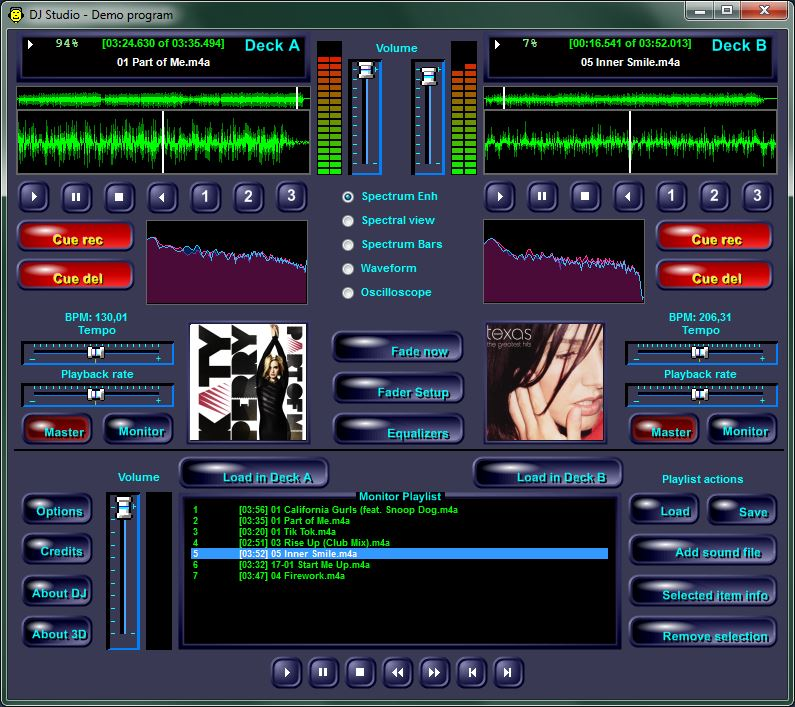 Audio DJ Studio for  NET | MultiMedia Soft