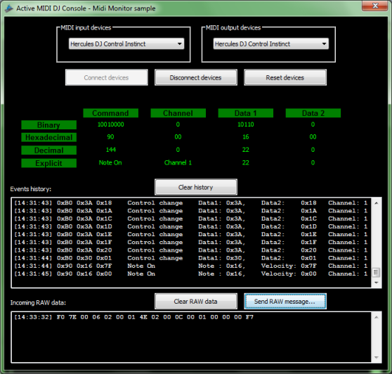 Click to view Active MIDI DJ Console screenshots