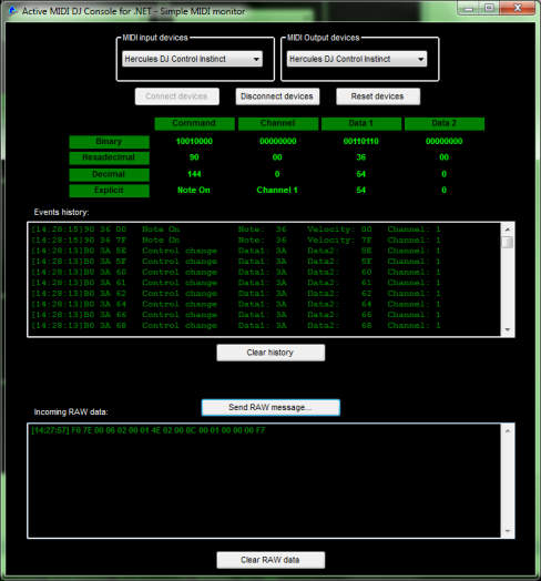 Click to view Active MIDI DJ Console for .NET screenshots