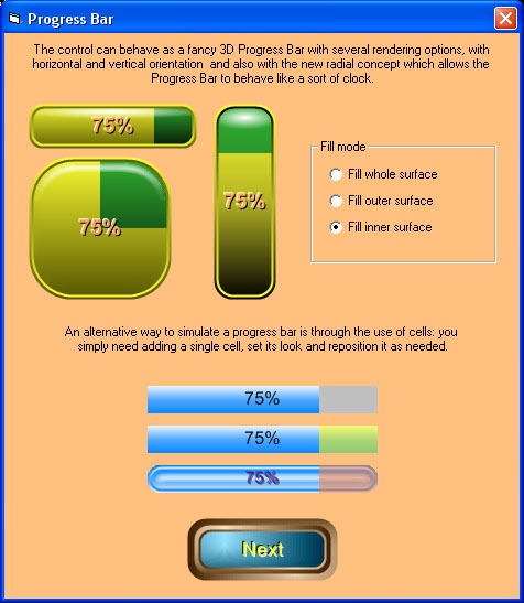 Screenshots | 3D Active Button Magic | MultiMedia Soft
