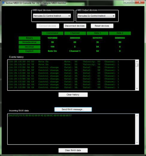 Active MIDI DJ Console for  NET | MultiMedia Soft