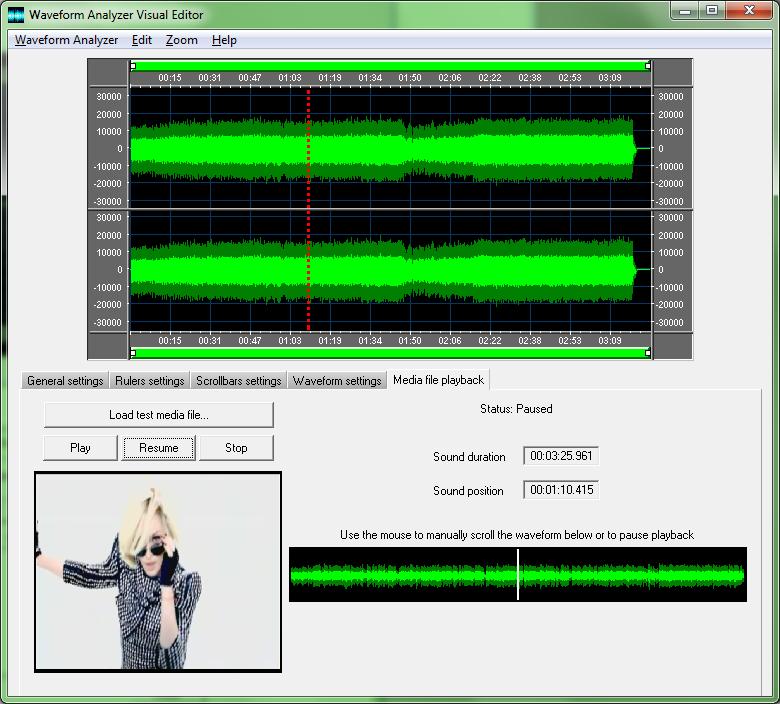 Active Waveform Analyzer | MultiMedia Soft